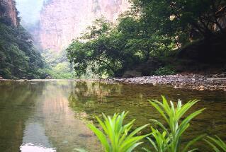 北方小桂林——山西蟒河,不仅有可爱的猕猴,更有动人的山水