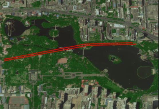 下穿迎泽湖水面185米 太原地铁2号线穿越迎泽公园